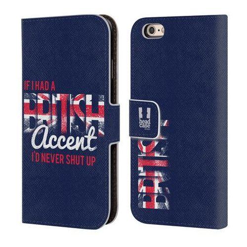 Etui portfel na telefon - LONDON BEST Prints British Accent