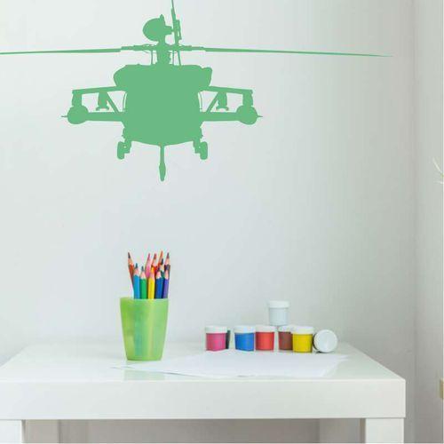 Wally - piękno dekoracji Szablon malarski sylwetka helikoptera 2300