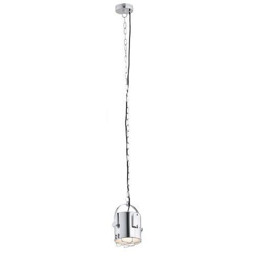 Nowoczesna LAMPA wisząca MARINE S 10201103 Kaspa metalowa OPRAWA industrialna ZWIS chrom (5902047300783)