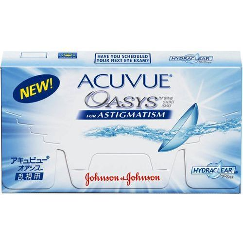 Nowość Acuvue Oasys for Astigmatism