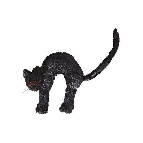 Guirca Czarny kot na halloween - 23 cm - 1 szt.