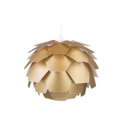 Lampa wisząca złota segre marki Beliani