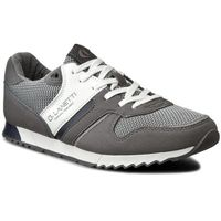 Sneakersy - mp07-16236-03 szary marki Gino lanetti