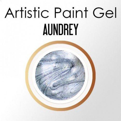 Nc nails company Nails company artistic paint gel pasta 5g - audrey (srebrny, brokatowy)