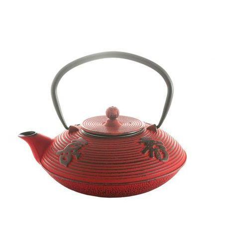 Kesi Dzbanek żeliwny + sitko imbryk do herbaty parzenia