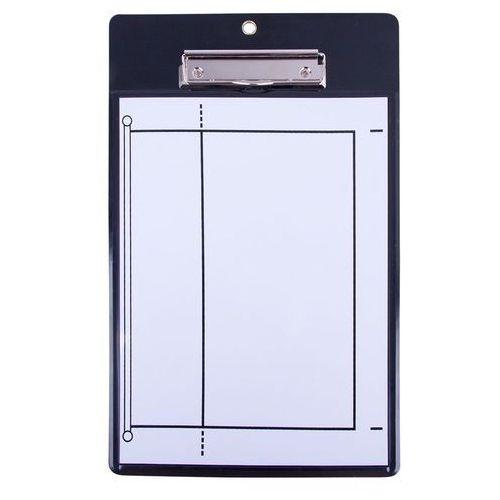 Magnetyczna tablica taktyczna do piłki siatkowej z magnesami vb76 marki Insportline