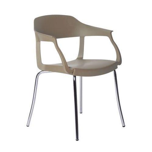 Green Krzesło evo strass p szare