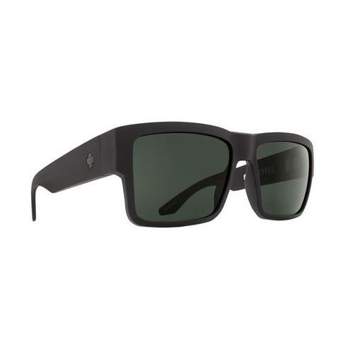 Okulary Słoneczne Spy CYRUS Polarized Cyrus Matte Black - Happy Glass Gray Polar, kolor żółty