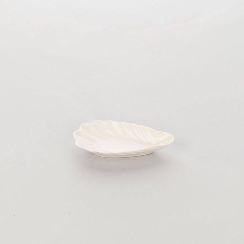 Półmisek z porcelany do finger food owalny ecru Taranto 395423 Stalgast 395423