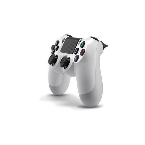 Kontroler Dualshock Cont PS4 (biały) z kategorii gamepady