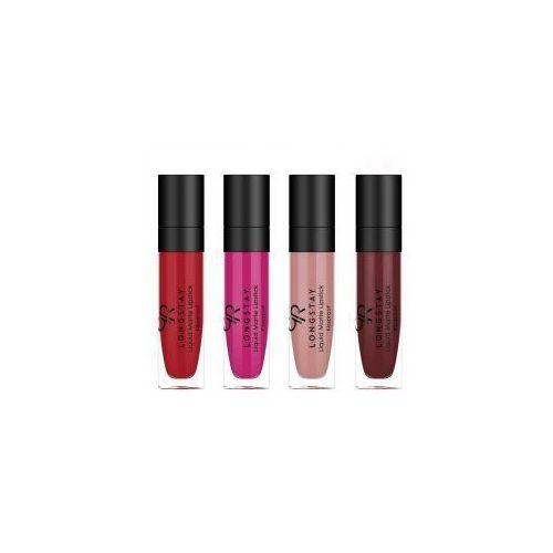 Golden Rose Longstay Liquid Matte Lipstick, matowa pomadka w płynie - produkt z kategorii- Szminki