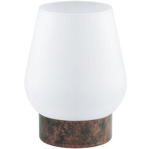 Lampa stołowa damasco 1 miedziana, 95762 marki Eglo