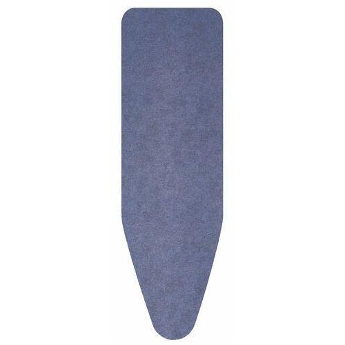 Brabantia - Pokrowiec na deskę do prasowania 135 x 45cm - pianka 8mm - Denim Blue - ciemnoniebieski