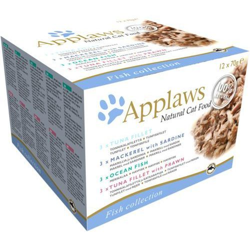 Applaws Natural Cat Food Fish Collection 12x70g