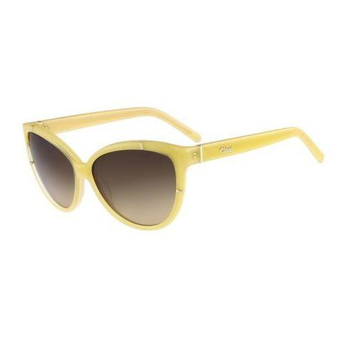 Okulary Słoneczne Chloe CE 620S Caspia 771, kolor żółty