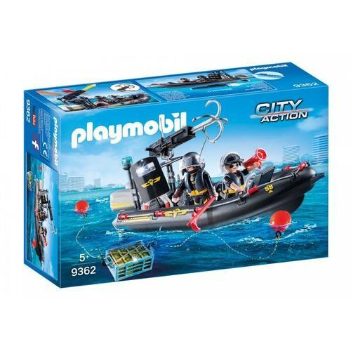 Playmobil ® City Action Ponton ratunkowy SEK 9362 - czarny