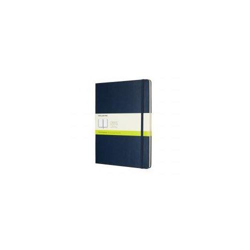 Moleskine Notes classic xl gładki, twarda oprawa, szafirowy (8055002855136)