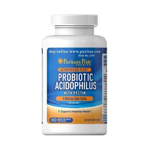 Kapsułki Puritan's Pride Probiotic Acidophilus + Pektyny 100 kaps