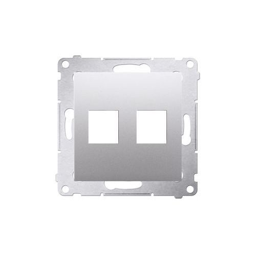 Kontakt - simon Pokrywa gniazd teleinformatycznych srebrny mat dkp2.01/43 simon54 (5902787824457)