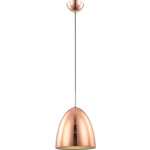 Lampa wisząca JACKSON 15134 Globo metalowa OPRAWA industrialny ZWIS kopuła miedziana, kolor Miedziany