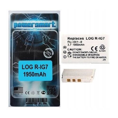 Powersmart Bateria r1g7 rig7 r-ig7 logitech harmony 880 890