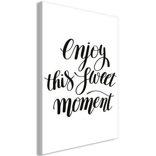 Obraz - Enjoy this sweet moment (1-częściowy) pionowy