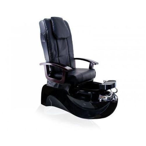 Fotel Pedicure Spa Ts-1204 Czarny Z Funkcją Masażu