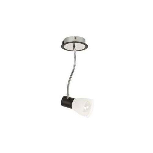 Plafon lampa sufitowa spot Rabalux Ati 1x15W E14 czarny / chrom 5975, 5975