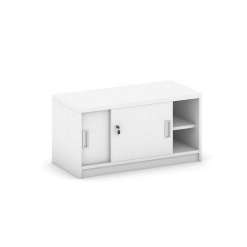 Nadstawka z przesuwnymi drzwiami, 800 x 400 x 400 mm, biały marki B2b partner