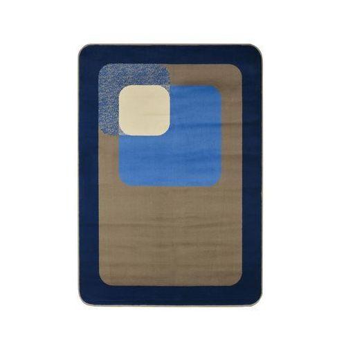 Dywan ROUND niebieski 120 x 160 cm (5901760131322)