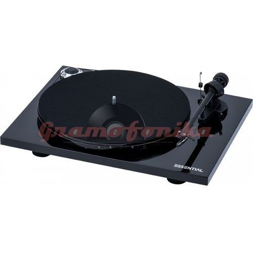 Gramofon Pro-Ject ESSENTIAL III PHONO czarny
