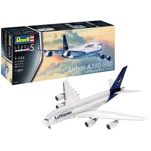 Revell Model plastikowy airbus a380-800 lufthansa new livery