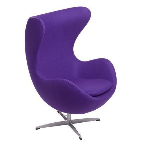 Fotel Jajo fioletowy kaszmir #4 - fioletowy, 22276