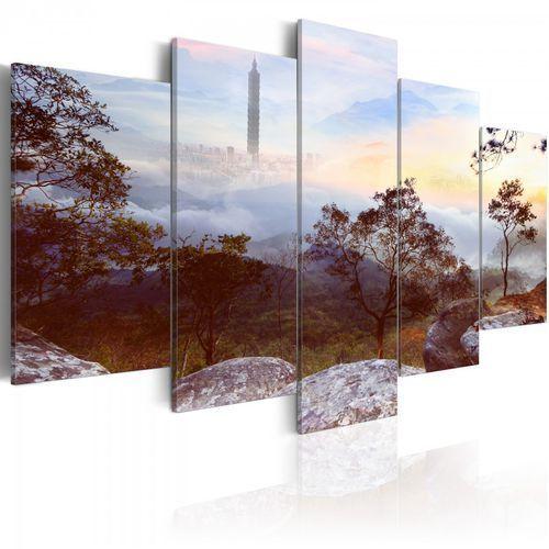 Artgeist Obraz - wieża i horyzont (100x50 cm)