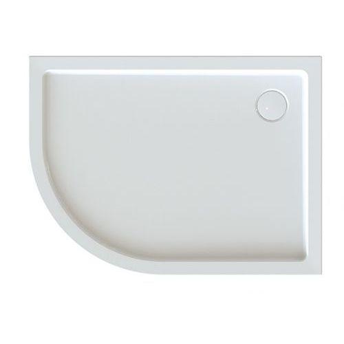 Sanplast brodzik półokrągły asymetryczny free line bp-p/free 80x120x5+stb 80x120x5cm