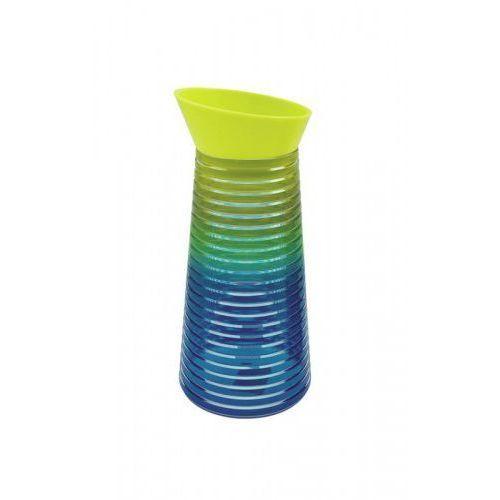 Karafka na napoje RAINBOW chłodne kolory Zak! Design, 6685-N461