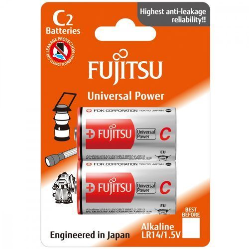 Fujitsu Baterie alkaliczne universal power lr14/c (4976680868604)