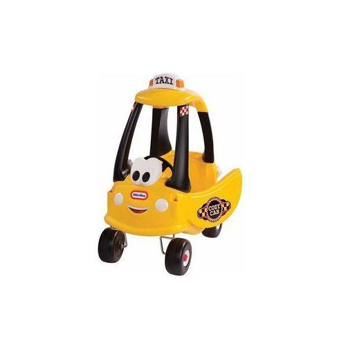 Samochód żółty taxi marki Little tikes