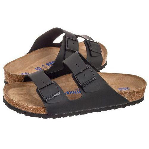 Klapki Birkenstock Arizona BS Soft Footbed Black 0551251 (BK66-a), kolor czarny