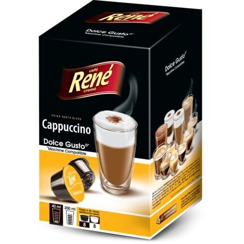 cappuccino dolce gusto 16 kapsułek marki Rene