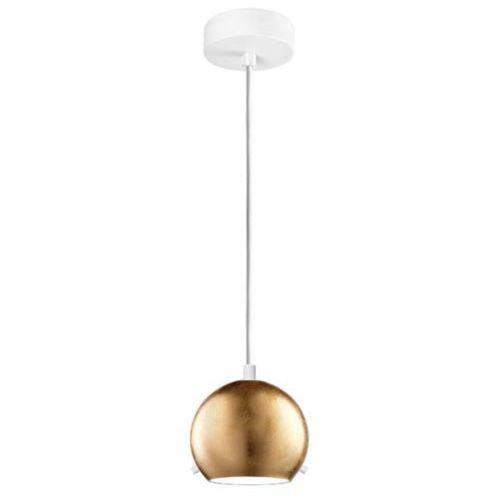 Sotto luce Lampa wisząca myoo 1/s/gold/opal szklana oprawa nowoczesna zwis kula złota (1000000209860)