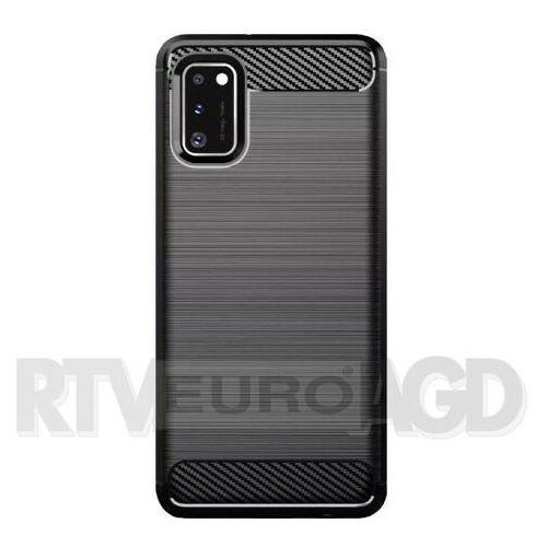 Etui WG Carbon do Samsung Galaxy A41 Czarny, 8447