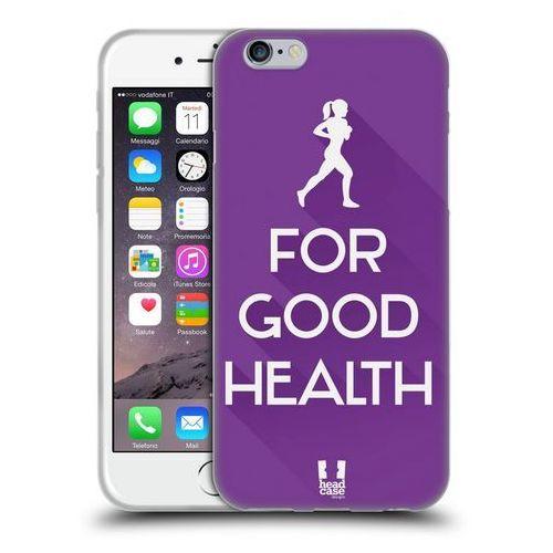 Etui silikonowe na telefon - Workout Inspirations Violet Run - produkt z kategorii- Futerały i pokrowce do telefonów