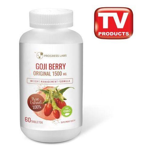 Tabletki Goji Berry Original 1500mg 60 tabletek - silne uderzenie w odchudzanie