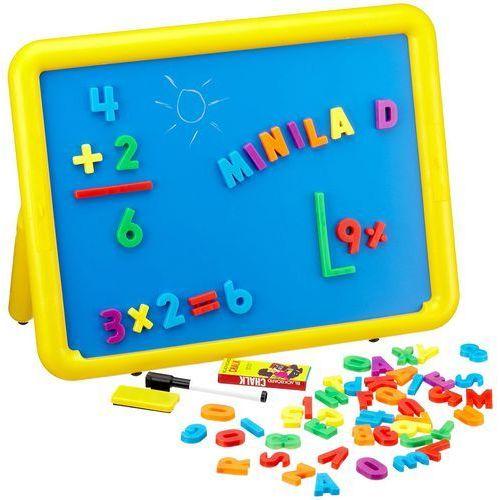 Miniland Tablica magnetyczna - duża dwustronna tablica dla dzieci