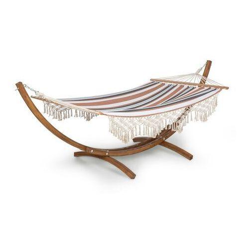 Blumfeldt Bali Swing, hamak, modrzew, 160 kg maks., 320 g/m², 3-kolorowy, wzór w paski