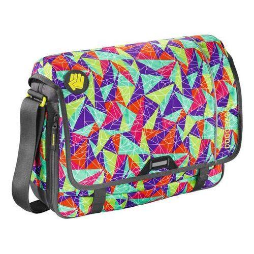 "hangdang ii torba na ramię - laptop 15,6"" / spiky pyramid - spiky pyramid marki Coocazoo"
