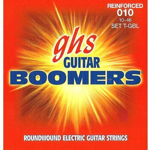 reinforced guitar boomers struny do gitary elektrycznej, light,.010-.046 marki Ghs