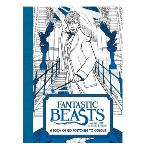 Fantastic Beasts and Where to Find Them: A Book of 20 Postca