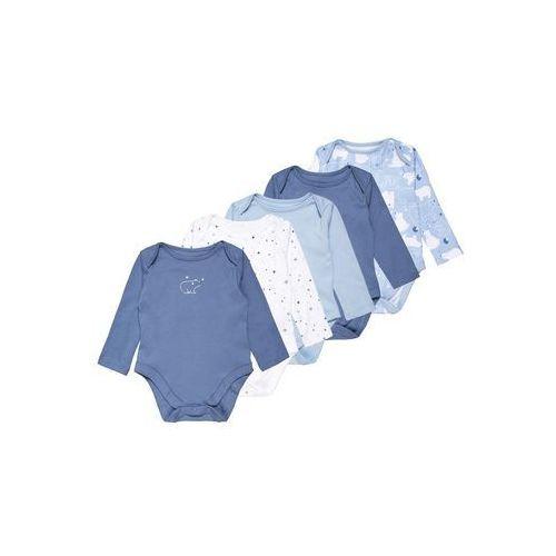mothercare BOYS POLAR BEAR BABY 5 PACK Body blue, MC414